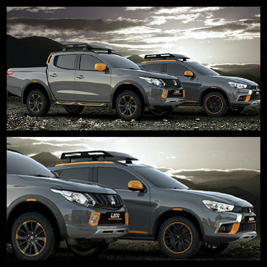 三菱自動車 ジュネーブ2016 L200 geoseek asx geoseek concept