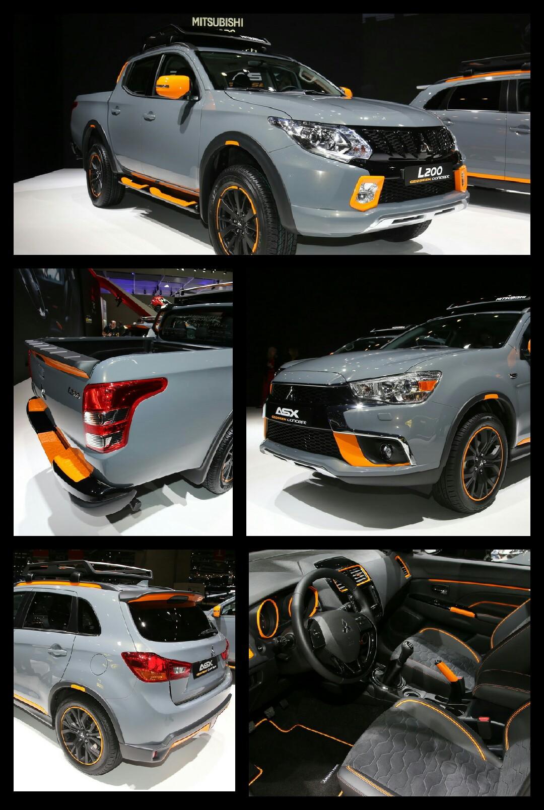 三菱自動車 2016ジュネーブ トライトン asx RVR