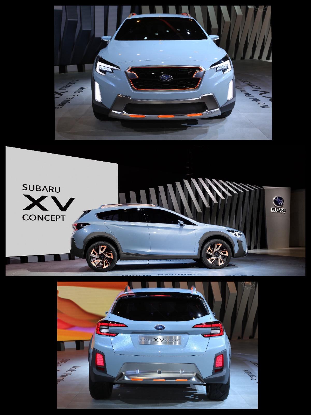 スバル XVコンセプト ジュネーブ2016