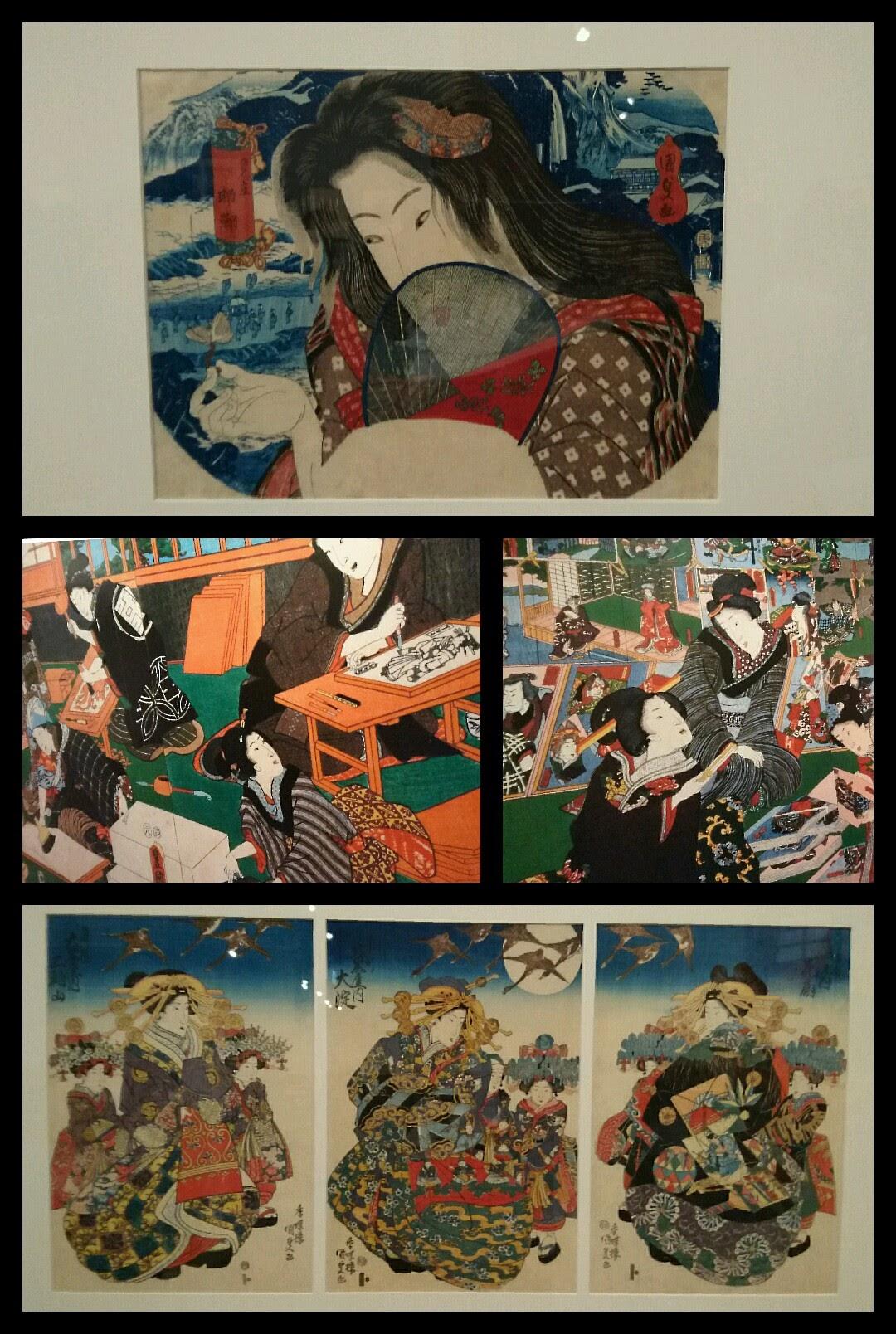 国芳国貞展 渋谷Bunkamura