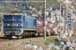 3092レ(=EF510-502牽引)