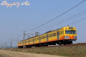 三岐鉄道にて