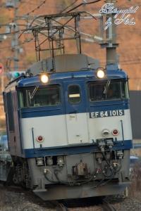 3083レ(=EF64-1015牽引)
