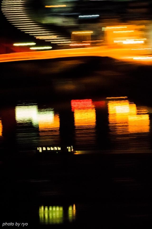 馬洗川橋梁を走る