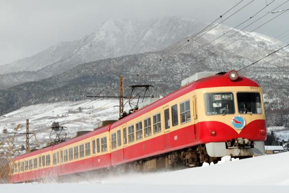 2011年1月 長野電鉄 夜間瀬