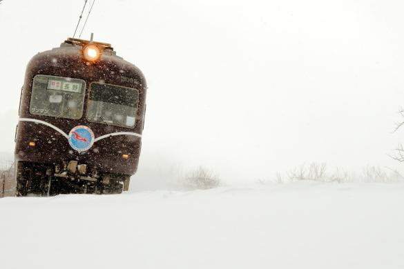 2011年1月 長野電鉄 上条