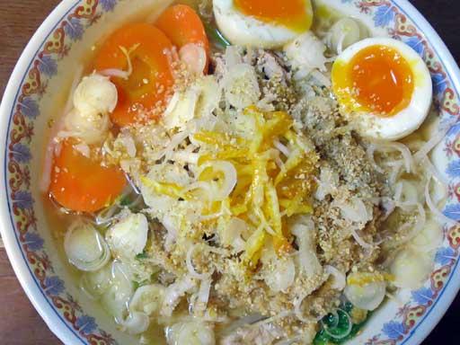豚肉入りにんにくラーメンの写真Garlic-Soba-Noodle