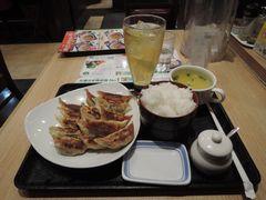 餃子定食!