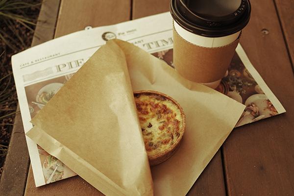 パイとコーヒー