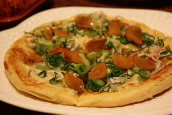 カラスミピザ1
