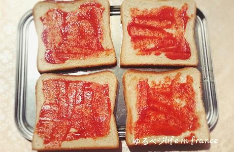 ベジタブルサンドイッチ④