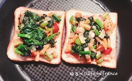 ベジタブルサンドイッチ⑤