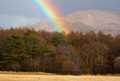 清里の虹20151211