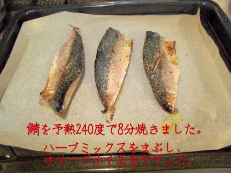 小さめの鯖の切り身