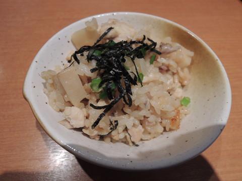 鶏と筍の炊き込みご飯(200円)