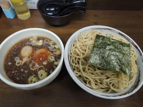 和風鶏がらつけ麺(大盛)(1180円)