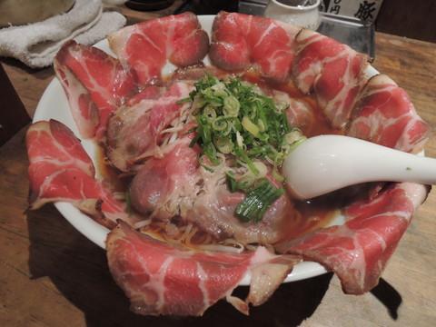 焼豚満開目出鯛横丁そば(1300円)
