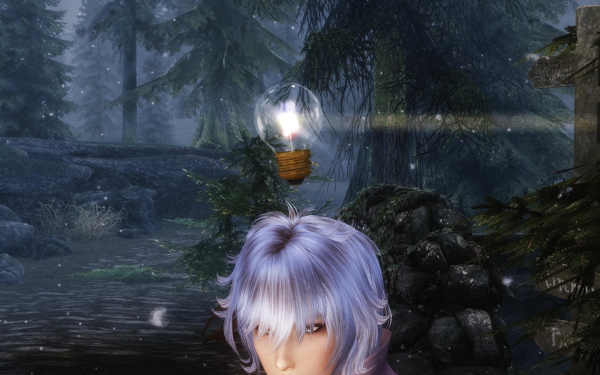 RS Flashing Light Bulb