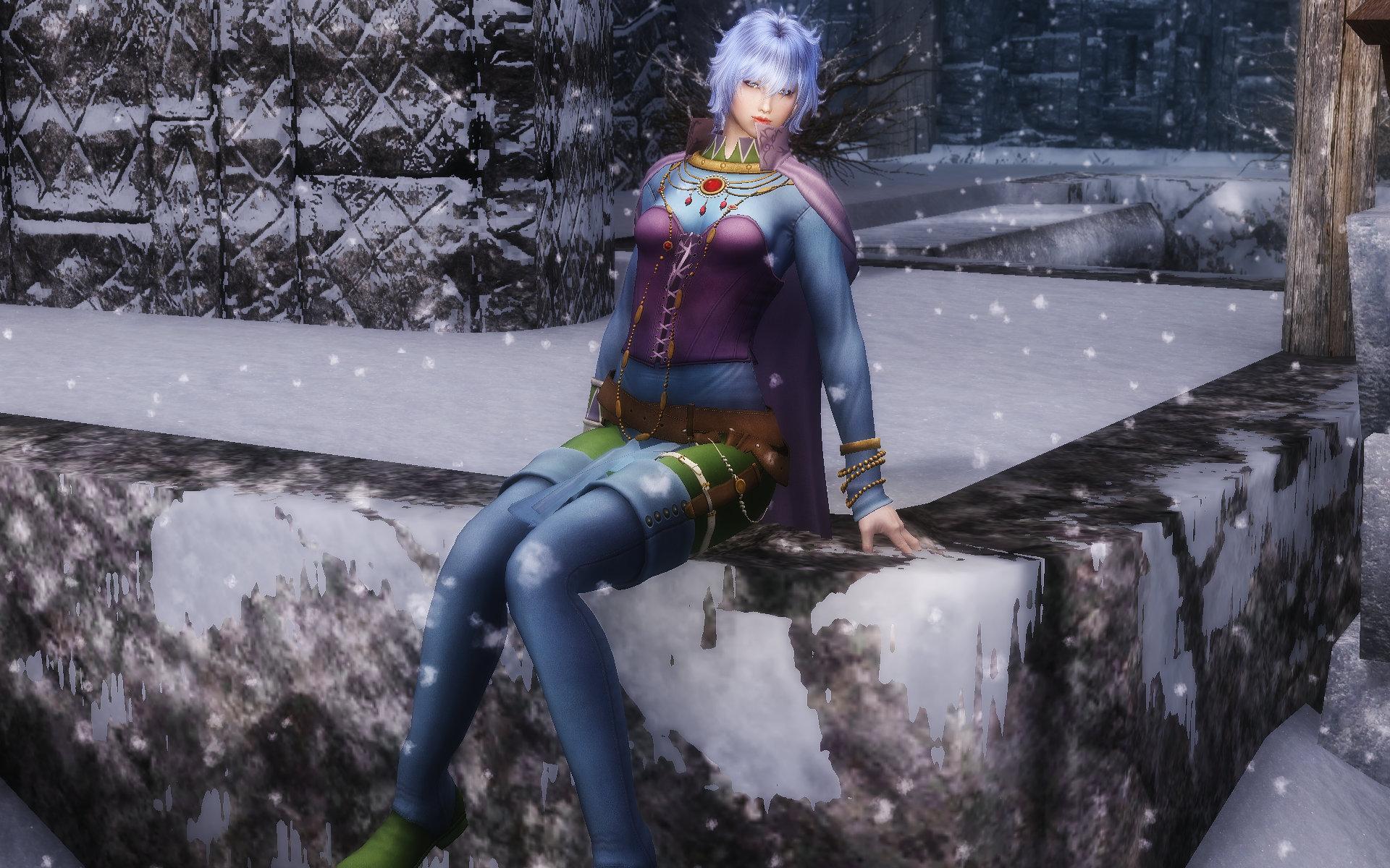 Romancing Sa・Ga3 Katharina Outfit
