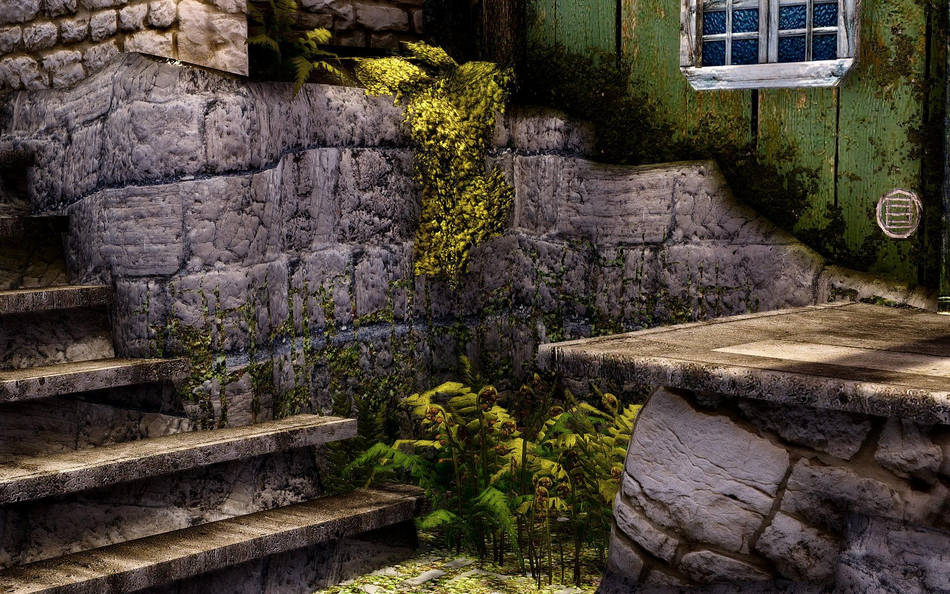 垂れ苔リテクスチャMOD:Hanging Moss HD Texture
