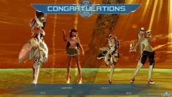 PS4版cβT勝利演出