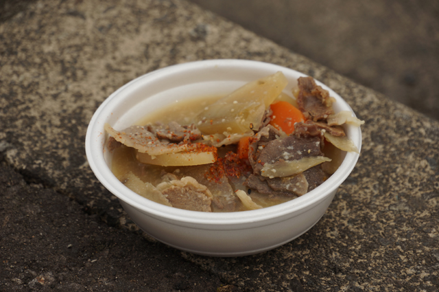 牡丹鍋、イノシシ肉 うまい!!
