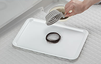 LIXIL 浴室 マンションリフォーム用システムバスルーム リノビオV 特長 くるりんポイ排水口
