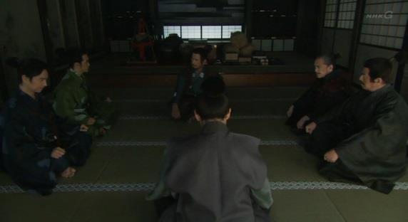 「そう言えば、源三郎。室賀殿に尋ねたいことがあるそうじゃが」真田信幸 真田丸