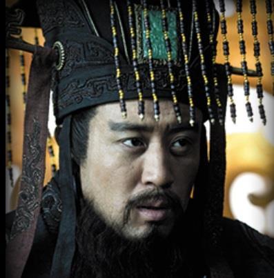 ※画像はドラマ「項羽と劉邦」の始皇帝