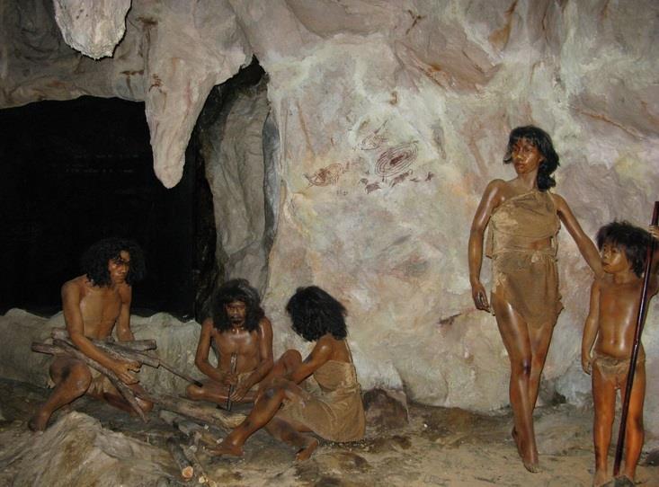 石器時代の人類も化粧したいた