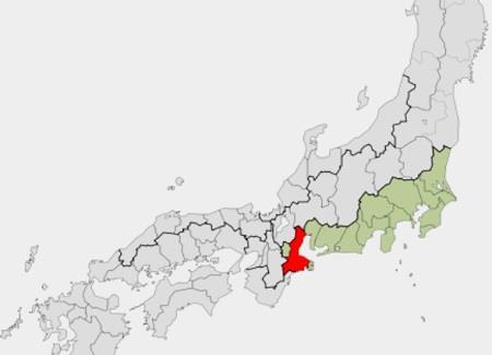 伊勢は今の三重県 地図