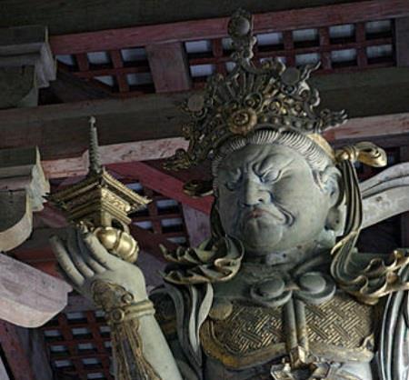 毘沙門天は仏教における武神