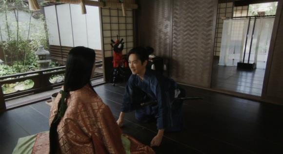 「母上、梅とのこと、あらかじめご相談も致さず、申し訳ございませんでした」真田信繁 真田丸