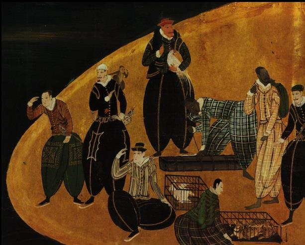 南蛮とは、主にポルトガル