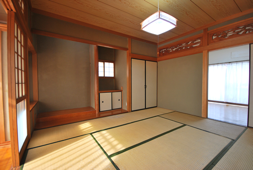 岡山市中区関施工前 和室2