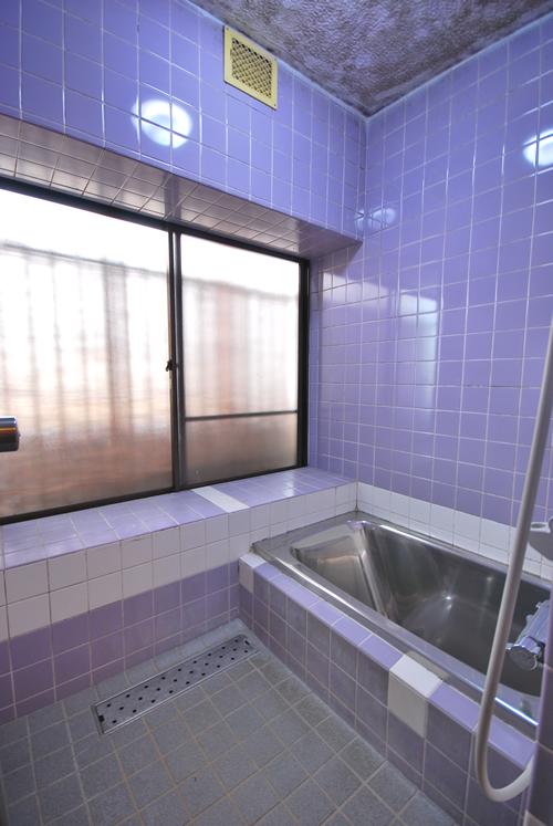 岡山市中区関施工前 浴室