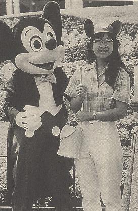 都職員夫人さまとミッキーマウス