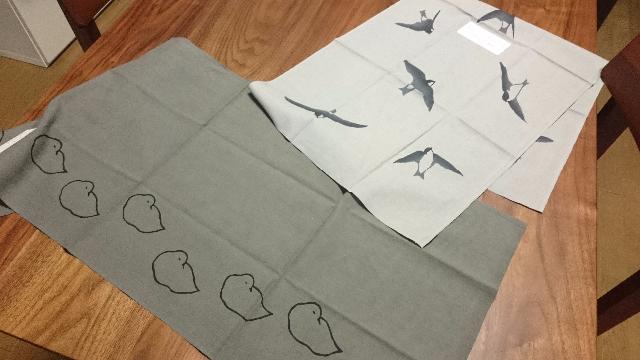 岩燕と眠る鳥