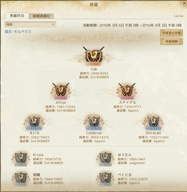 3月6日海賊新英雄