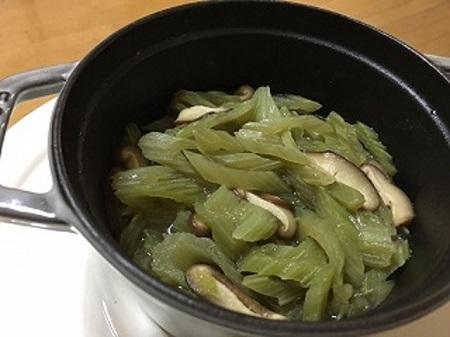ふきの炒め1