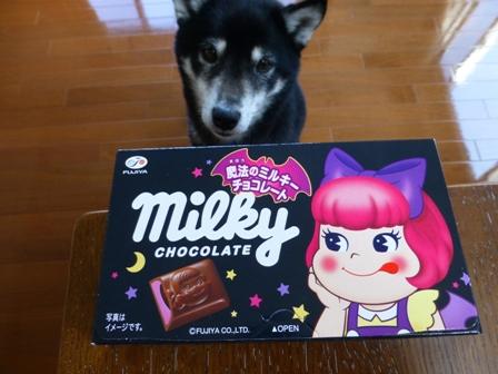 魔法のミルキーチョコレート1