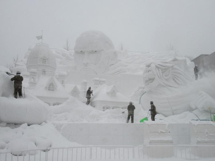 大雪像11602010