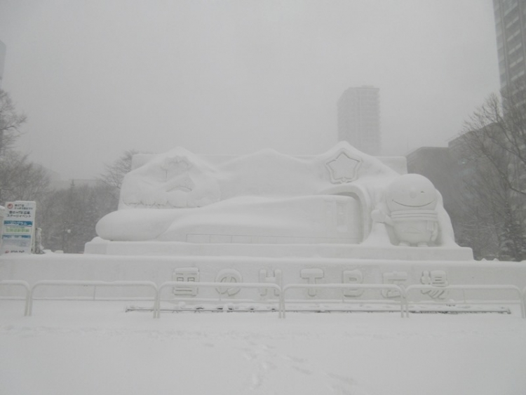 大雪像3160210
