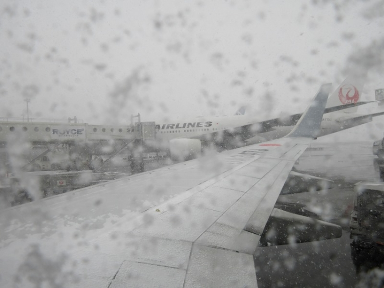 千歳空港1160210