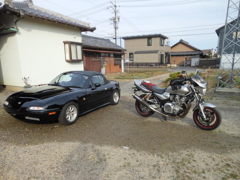 タイヤ交換と洗車4