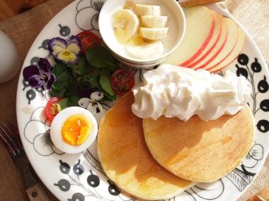 mimosa & pancake