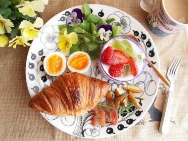 rosemary potato & croissant