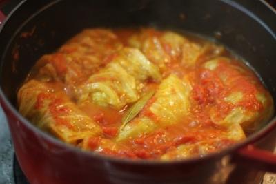 ロールキャベツのトマト煮込み4