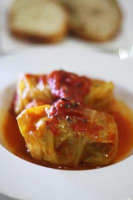 ロールキャベツのトマト煮込みb