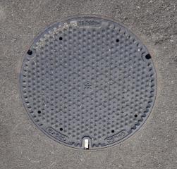 京都市下水道(合流)マンホール